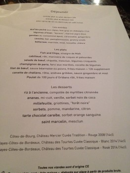 Alcazar carte menu TerroirEvasion.com