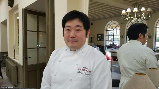 Château de Courban - Chef Takashi Noshita