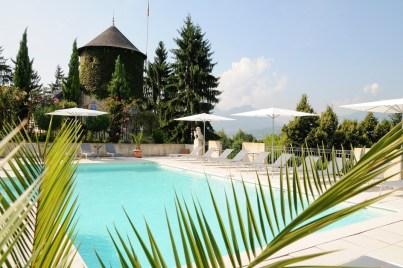 Chateau de Candie piscine Chambéry Savoie