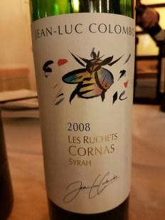2008 Cornas Colombo Les Ruchets