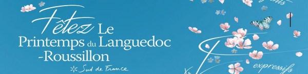 Languedoc Rousillon printemps Bandeau