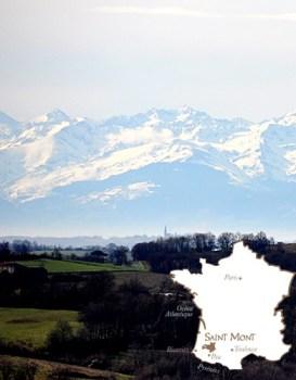 Saint Mont Carte gers