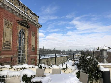 Pavillon Henri 4 Façade neige_c2i