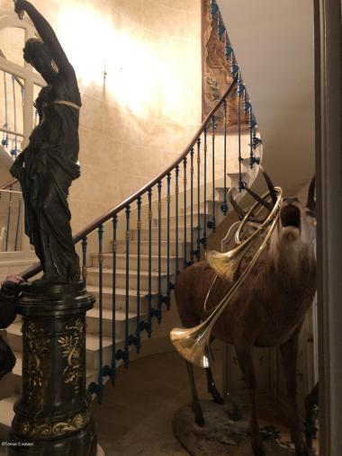 Bligny escalier chasse Terroir Evasion