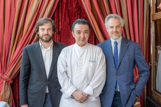 Dôme Montparnasse Edouard Maxime Bras et chef Yoshihiko Miura
