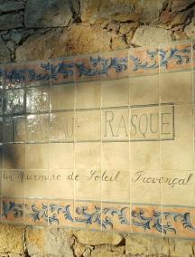 Panneau Chateau Rasque le soleil provençal_c2i