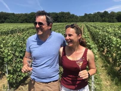 Piot Sevillano champagne Christine et Vincent