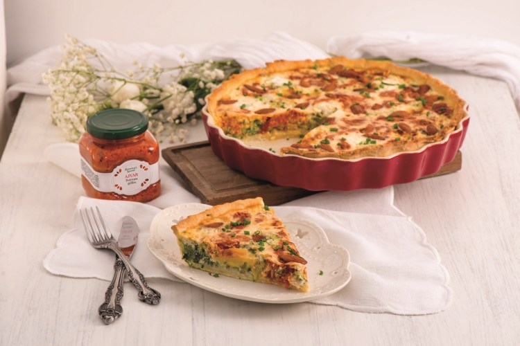 Quiche Légumes Ajvar Granny's Secret