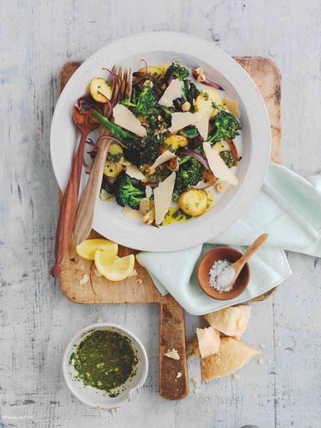 Parmigiano Reggiano salade brocolis parmesan