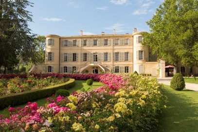Estoublon chateau fleuri