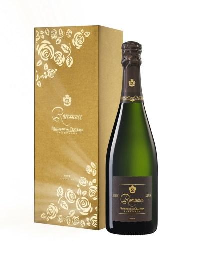 Beaumont des Crayères champagne Raressence-grand-millesime-2006 Coffret