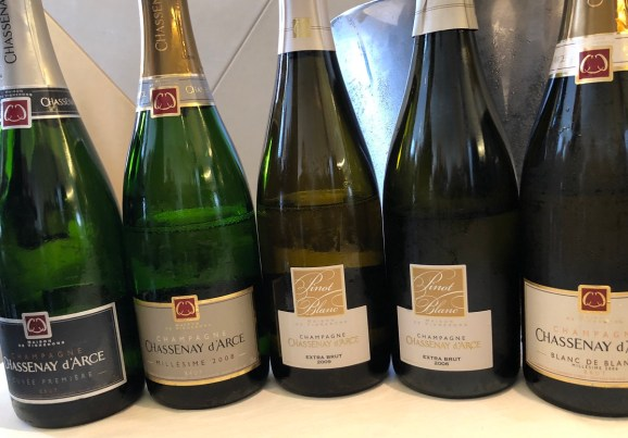 Chassenay d'Arce champagne gamme vins