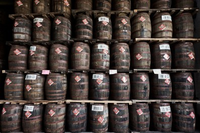 Whisky Original Fut bois raboté whiskey