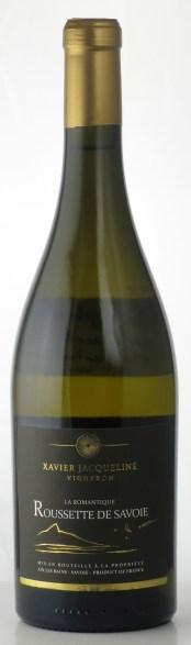 Vin de Savoie La Romantique Roussette de Savoie Domaine Xavier Jacqueline
