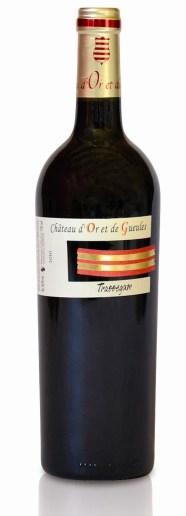 Vins pour Saint Valentin Château d'or de gueule Costières de nimes 2015_
