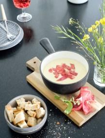 Fondue au fromage de Savoie