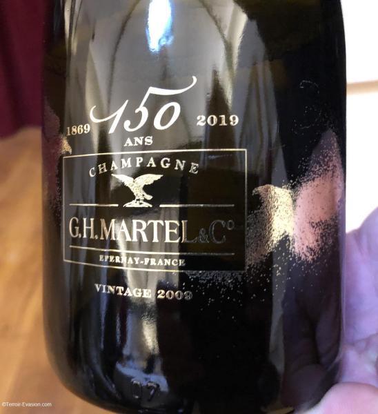 Champagne G.H Martel