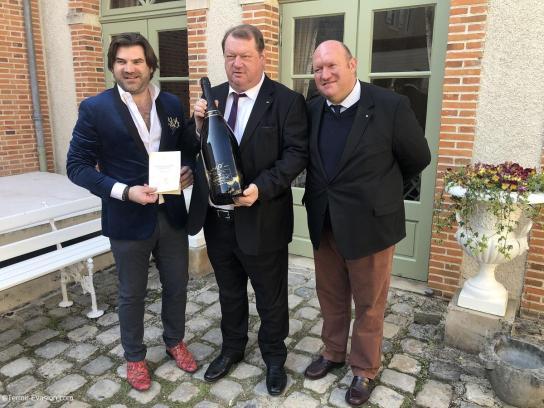 Champagne G.H Martel - Famille