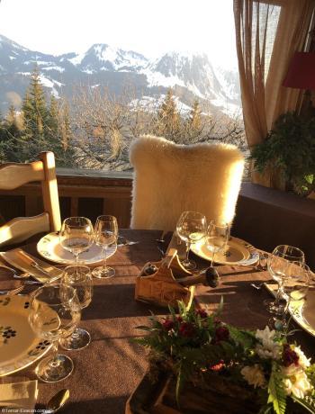 Chalets Hôtel de la Croix Fry - Restaurant La Table de Marie-Ange