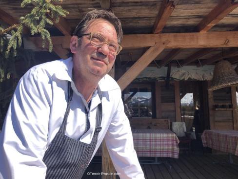 Chalets Hôtel la Croix Fry - Eric Guelpa Chef de la Table de Marie-Ange