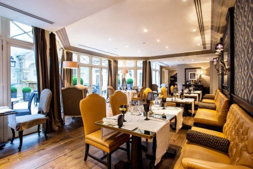 L'Assaggio restaurant Hotel Castille Collezione Paris