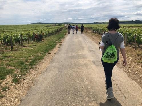 Trail de Sancerre marcheur