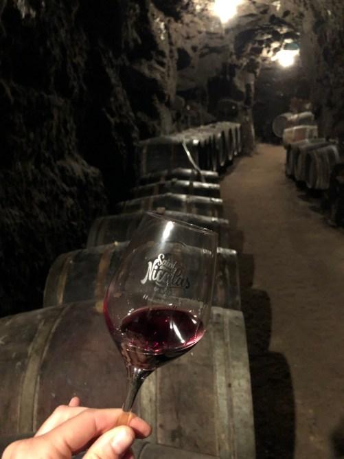 Saint Nicolas de Bourgueil - Cave troglodyte dégustation