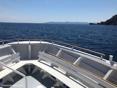 Le Lavandou - Croisière bateau vers les îles d'Or