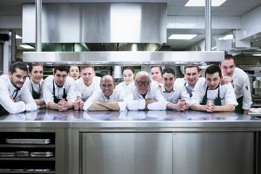 Savoie - La Bouitte -Equipe de cuisine