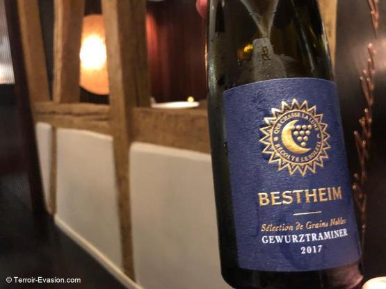 Bestheim à Bennwihr - Vendanges Tardives Gewurztraminer 2017