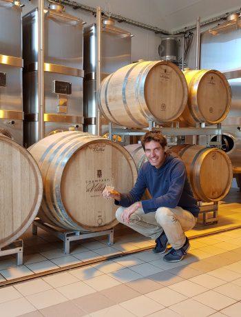 Champagne de Villepin - Bruno de Villepin Cave fûts de chêne