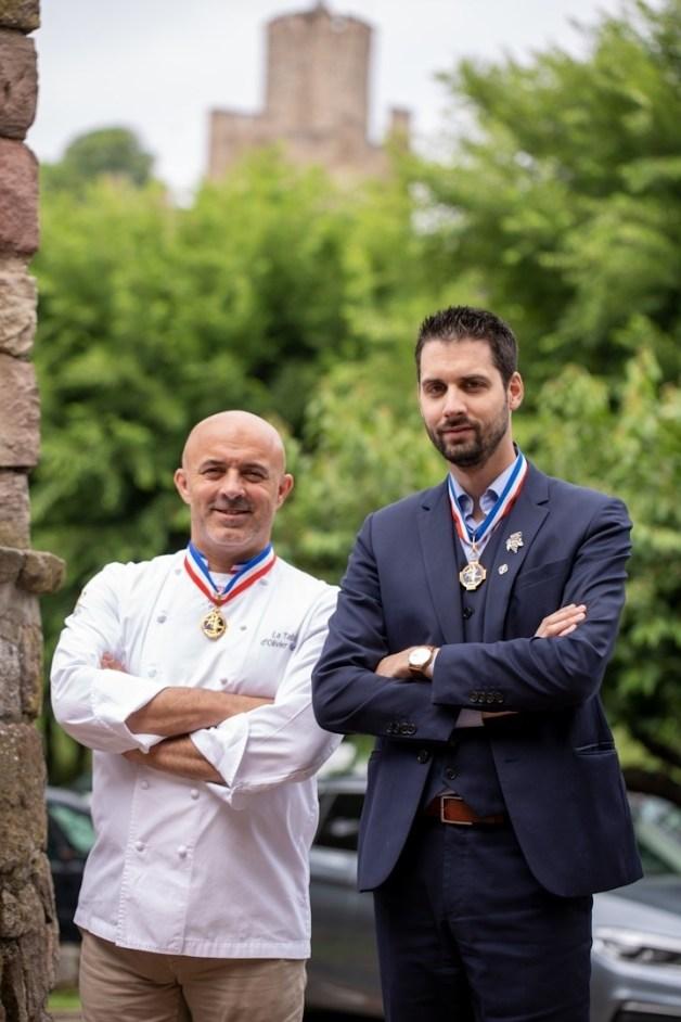Le Chambard à Kaysersberg Alsace - Chef Olivier Nasti et Sommelier Jean-Baptiste Klein