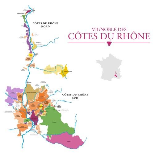 Saint-Joseph AOC (Nord violet) - Vignobles Côtes du Rhône