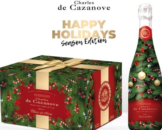 Champagne , les fêtes de fin d'année seront pétillantes.Champagne Cazenove