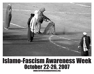Islamo Fascism Awareness Week Poster