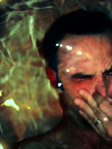 holding breath underwater