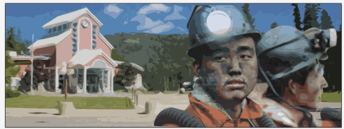 In Tumbler Ridge, BC, Chinese migrants under the Temporary Foreign Worker Program will staff a coming mining. (Design: Talal Al Salem and Jessica Mann/The Terry Project)