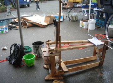 This, here, is one FINE treadle pump… | Terry*