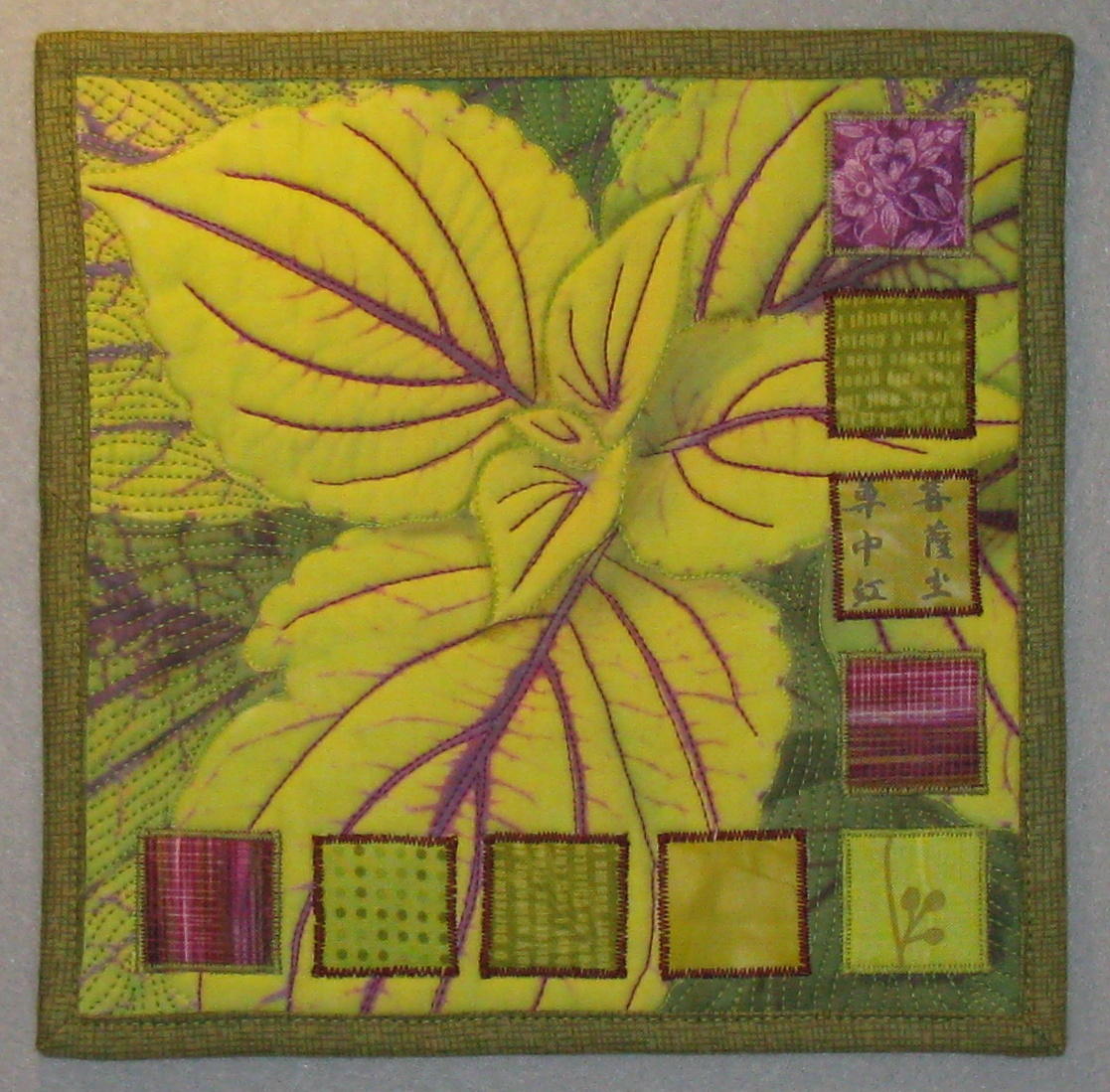 Quilting Daily | Terry Aske Art Quilt Studio