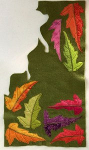 leaves-stitched-to-felt