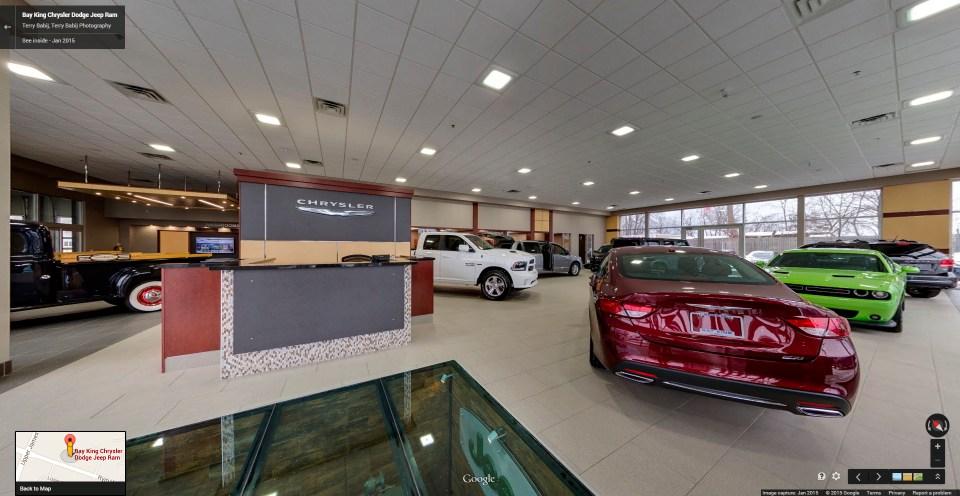 Auto Dealer, Bay King Motors, Google Maps Business View