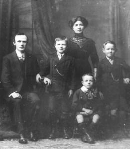 Patrrick Callaghan & family copy