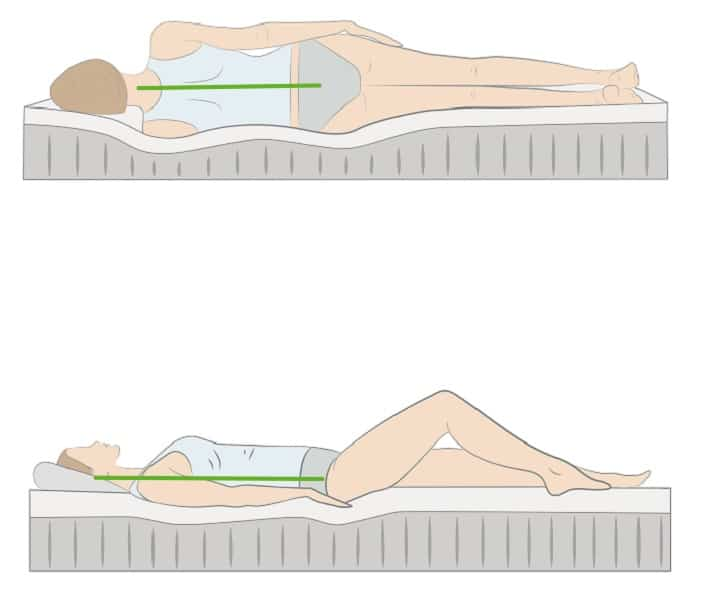 best sleeping positions for scoliosis