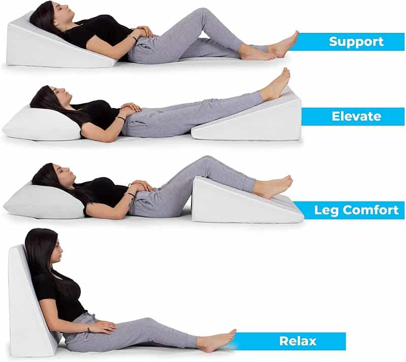 4 best wedge pillows for back pain