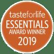 Taste for Life 2019 Essentials Award logo