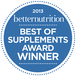 Best of Supplements Award Winner—2013 Betternutrition
