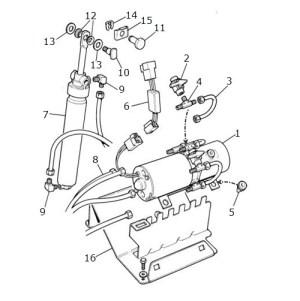 Hood Lift MechanismConvertible: Terrys Jaguar Parts