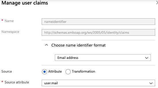 Manage user claims in active directory