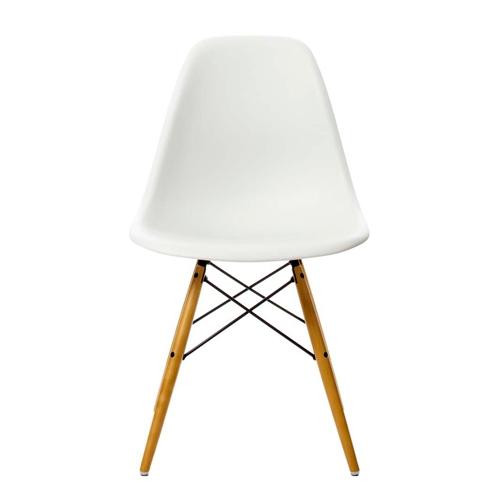 sillas de diseño eames DSW blanca