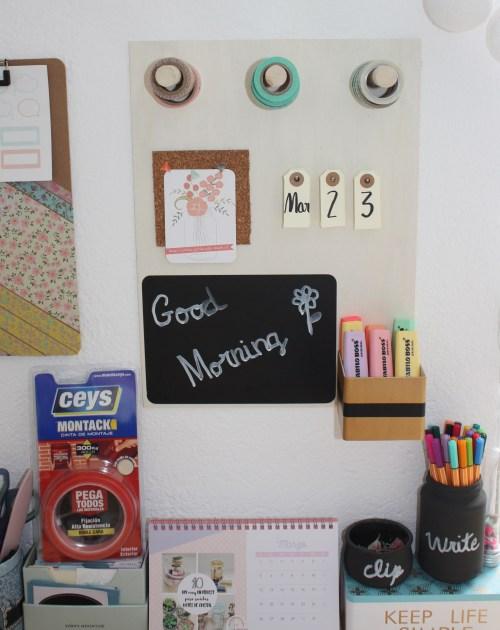 desafío craftlover handbox organizador escritorio DIY ceys